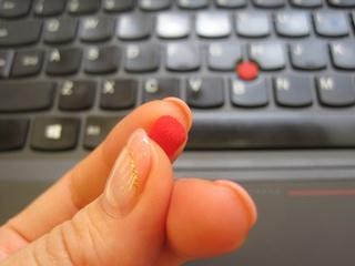 ThinkPad といえば、トラックポイント これ交換できるって知ってた?