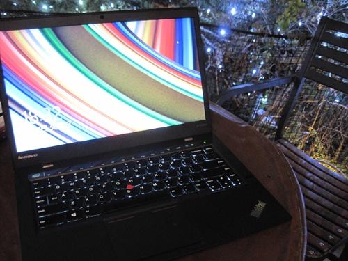 ThinkPad X1 Carbonのキーボードバックライト