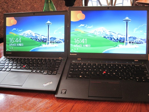 ThinkPadX1Carbon X240 違い 比較