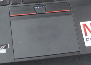 ThinkPadX1Carbon タッチパッド クリックパッド
