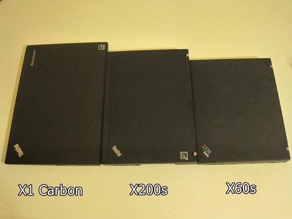 X1CarbonSizex60x200sx1 大きさ サイズ 新しいThinkPad X1 Carbon