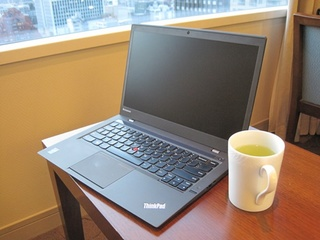 セレスティンで優雅に。新しいThinkPad x1 Carbonでお仕事