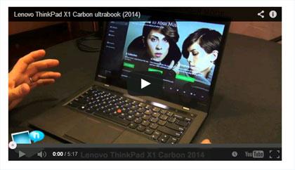 thinkpadx1carbon 動画 youtube動画