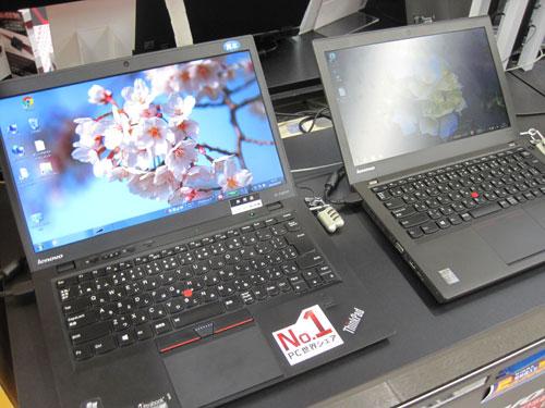 ThinkPad X1 Carbonは、キータッチが軽い