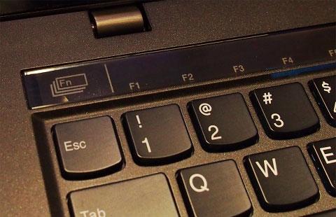 新しいthinkpad x1carbon キーボード ファンクションキー
