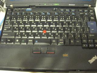 thinkpadx200s 日本語キーボード