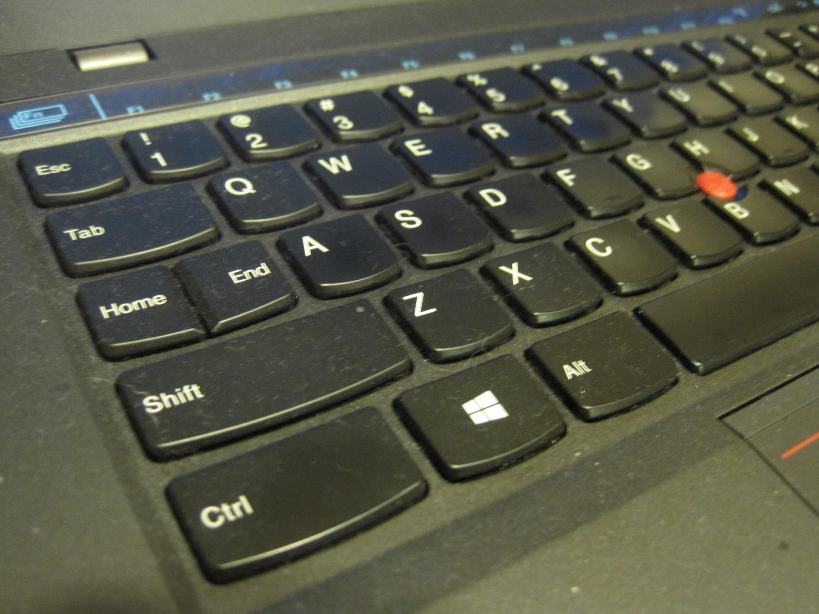 新しいThinkPad X1 Carbon 英語キーボードを使って4か月 だいぶ慣れました