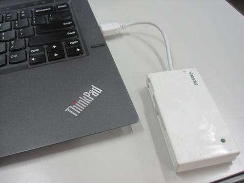 新しいThinkPad X1 Carbon にはSDカードリーダーがないので・・・